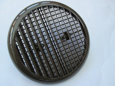 Round Louvre Vent Duct For Pipe Tube With Flyscreen Air